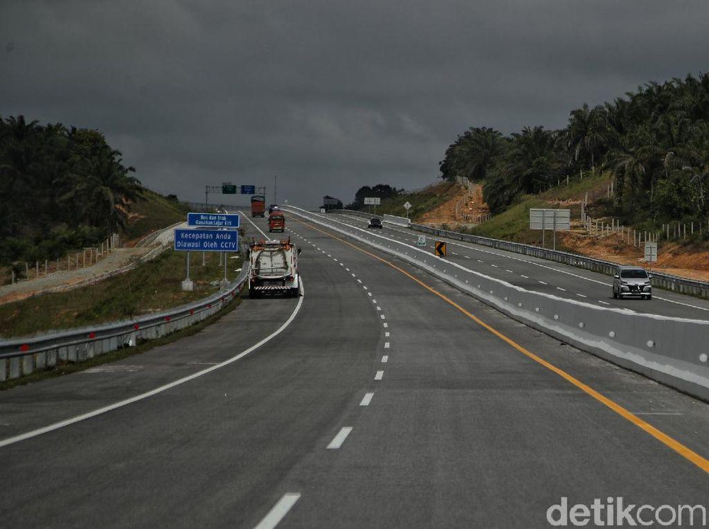 BPTD Riau Minta Pengelola Pasang Pita Kejut di Ruas Tol Pekanbaru-Dumai