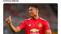 Meme Manchester United Ditekuk PSG, Martial Jadi Bulan-bulanan