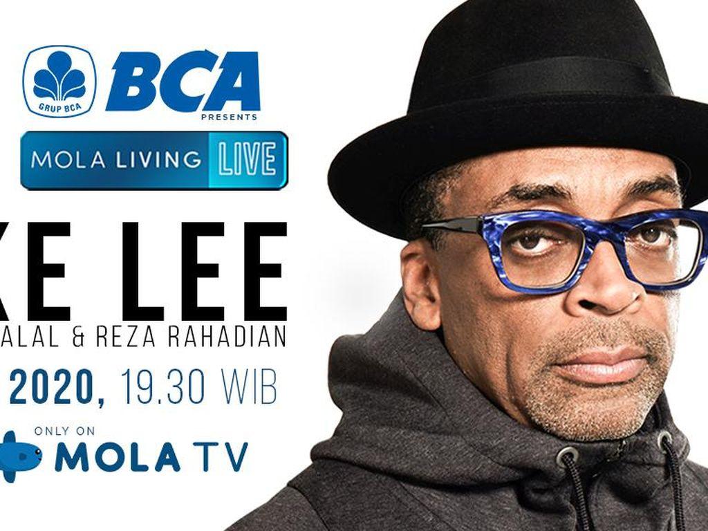 Sutradara Pemenang Oscar Spike Lee Tebar Inspirasi di Mola Living Live