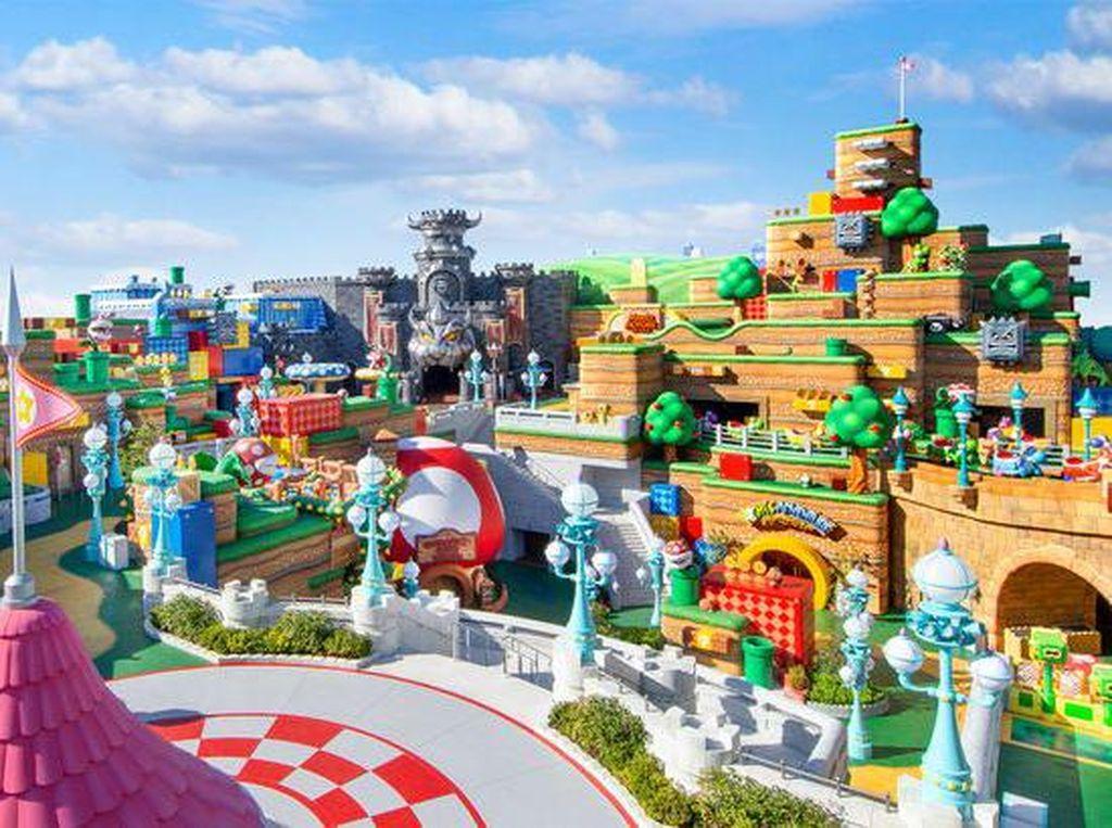 Yuk, Intip Wahana di Nintendo Park yang Baru Akan Buka