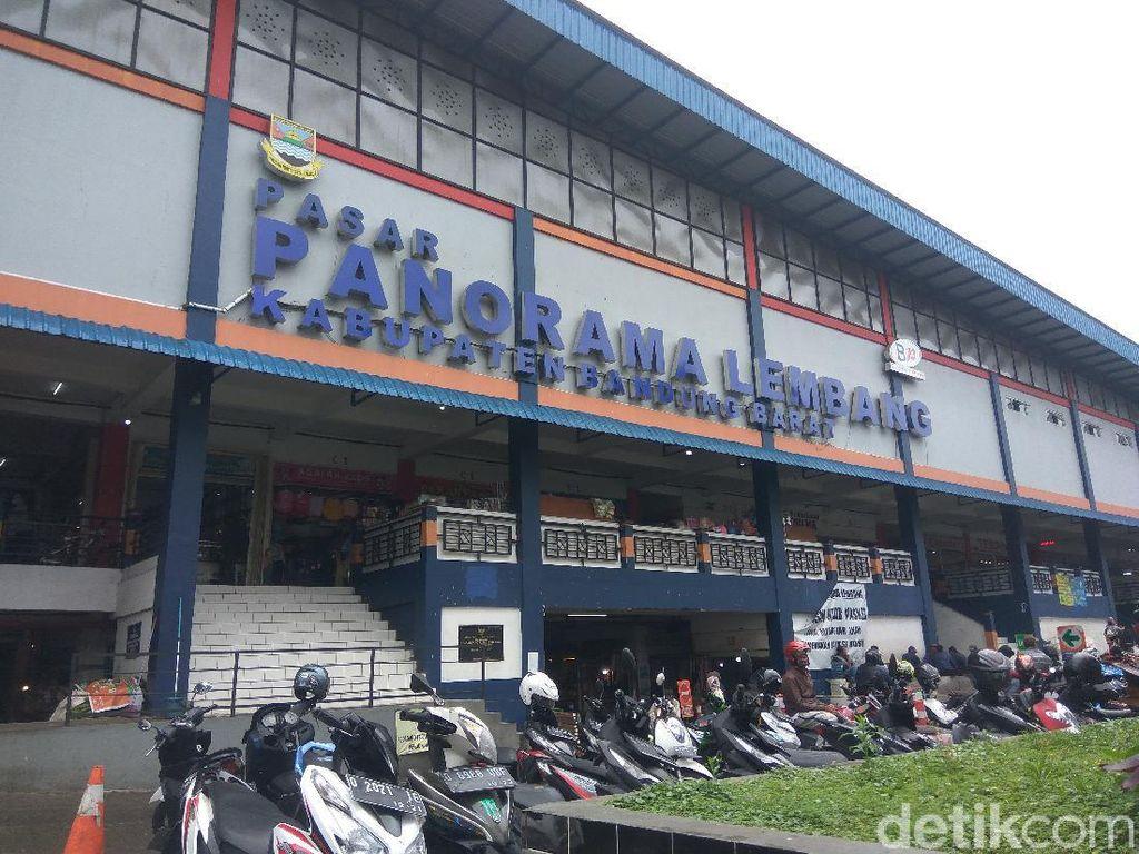 Pedagang Resah Terancam Didepak dari Pasar Panorama Lembang