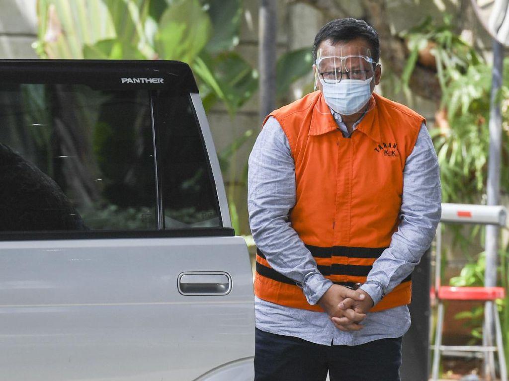 Tangan Diborgol Edhy Prabowo Diperiksa KPK