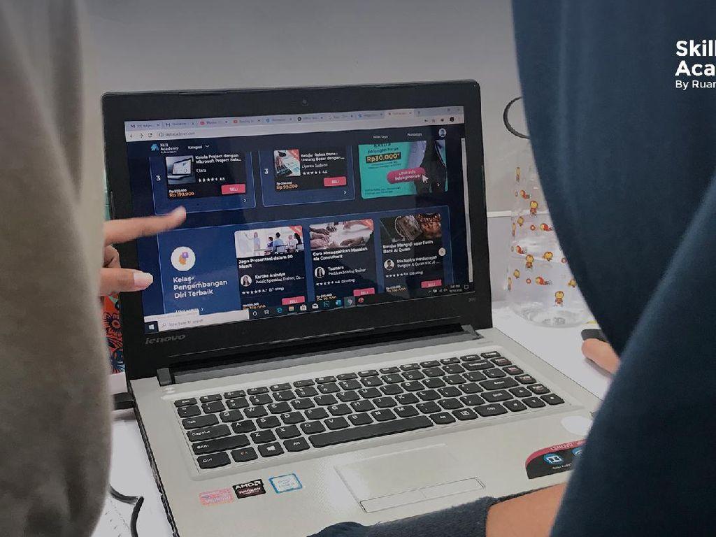Skill Academy Ruangguru Raih Penghargaan Google Play Best of 2020