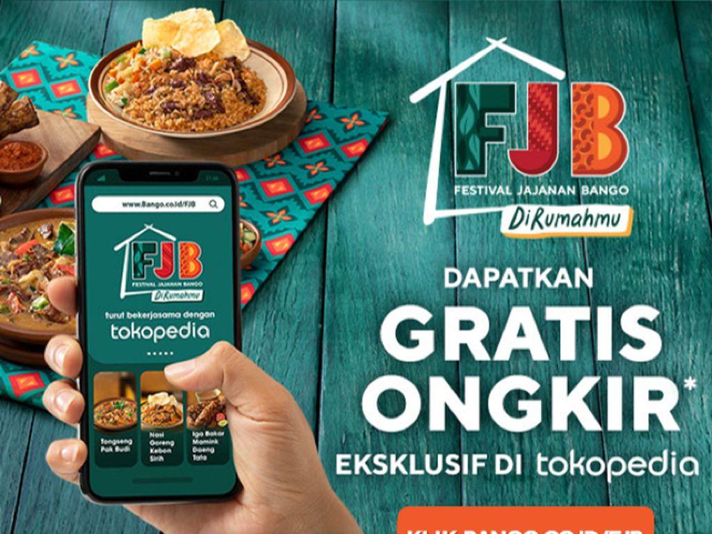 50 Penjaja Kuliner Nusantara Siap Meriahkan Festival Jajanan Bango