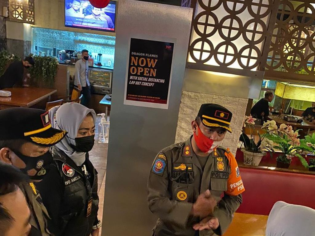 Patroli Prokes, Polres Jaksel Temukan 7 Bar-Kafe Langgar Jam Operasi