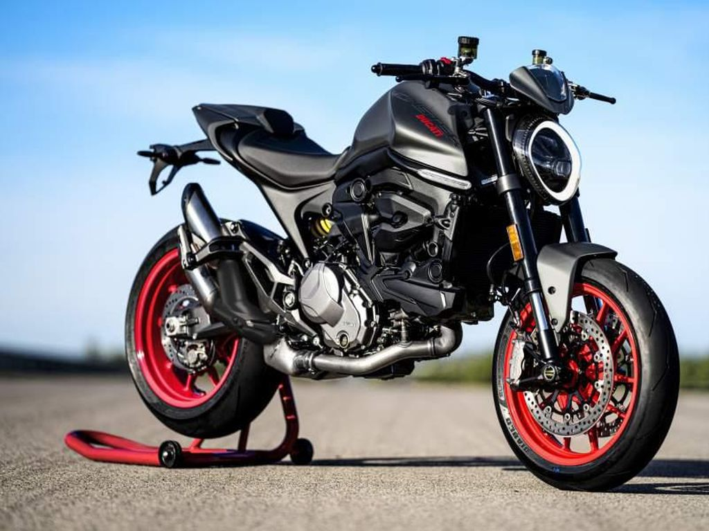 Ducati Monster 2021 Dirilis: Wajah Makin Kekinian, Bodi Tambah Langsing