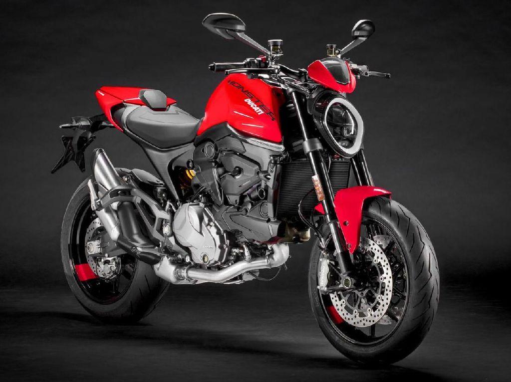 Potret Ducati Monster 2021 yang Tampil Makin Modern dan Langsing
