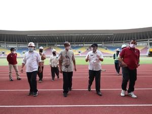 Kemenpora Intens Tinjau Persiapan Stadion untuk Piala Dunia U-20