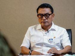 Moeldoko soal Isu Reshuffle Jilid II: Urusan Presiden Jokowi