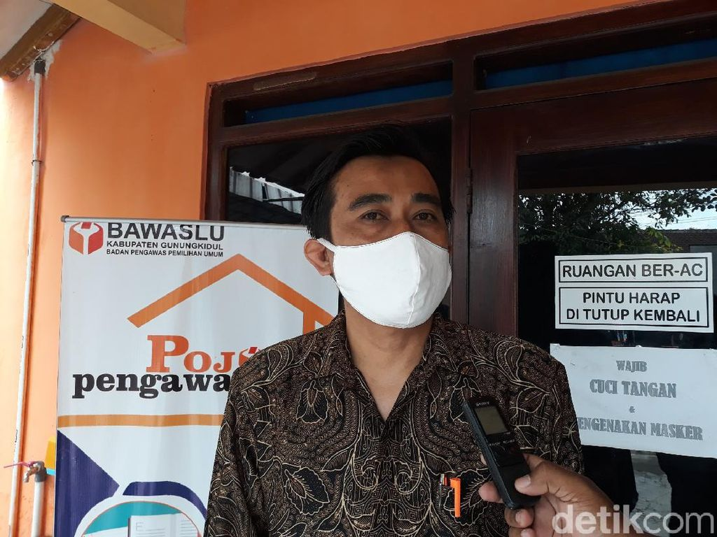 Bawaslu Telusuri Viral Video Amplop Isi Duit Bergambar Paslon Gunungkidul