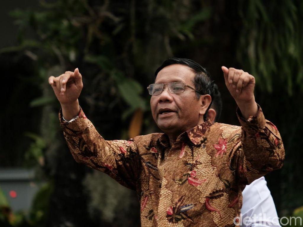 Front Persatuan Islam Dideklarasikan, Mahfud Bicara Hukum Alam