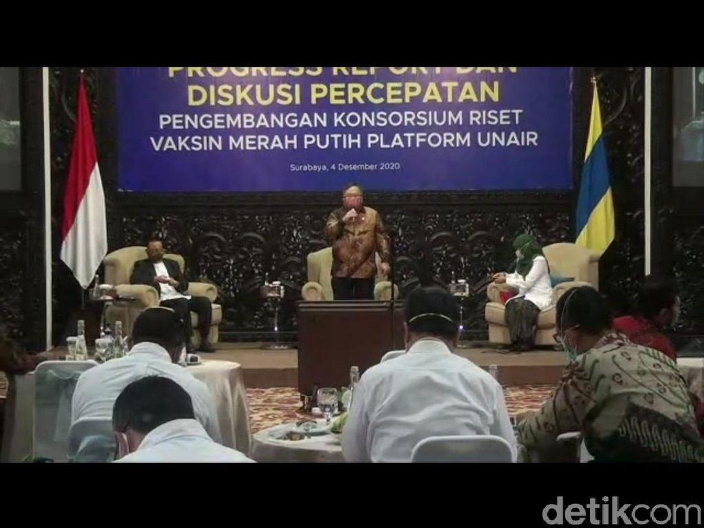 Menristek Kaget Indonesia Punya Kapasitas Produksi 1 Miliar Vaksin COVID-19