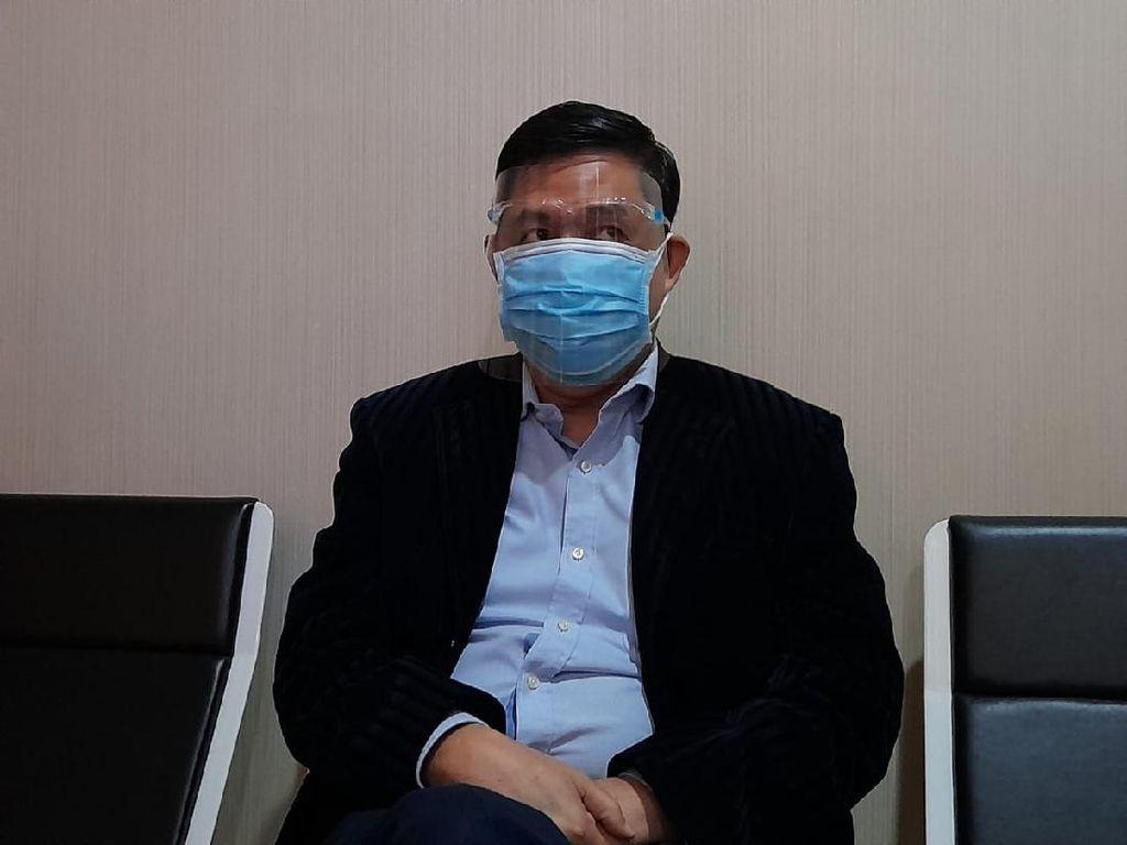 Pakai Face Shield-Masker, Ahmad Yani Penuhi Panggilan Polisi