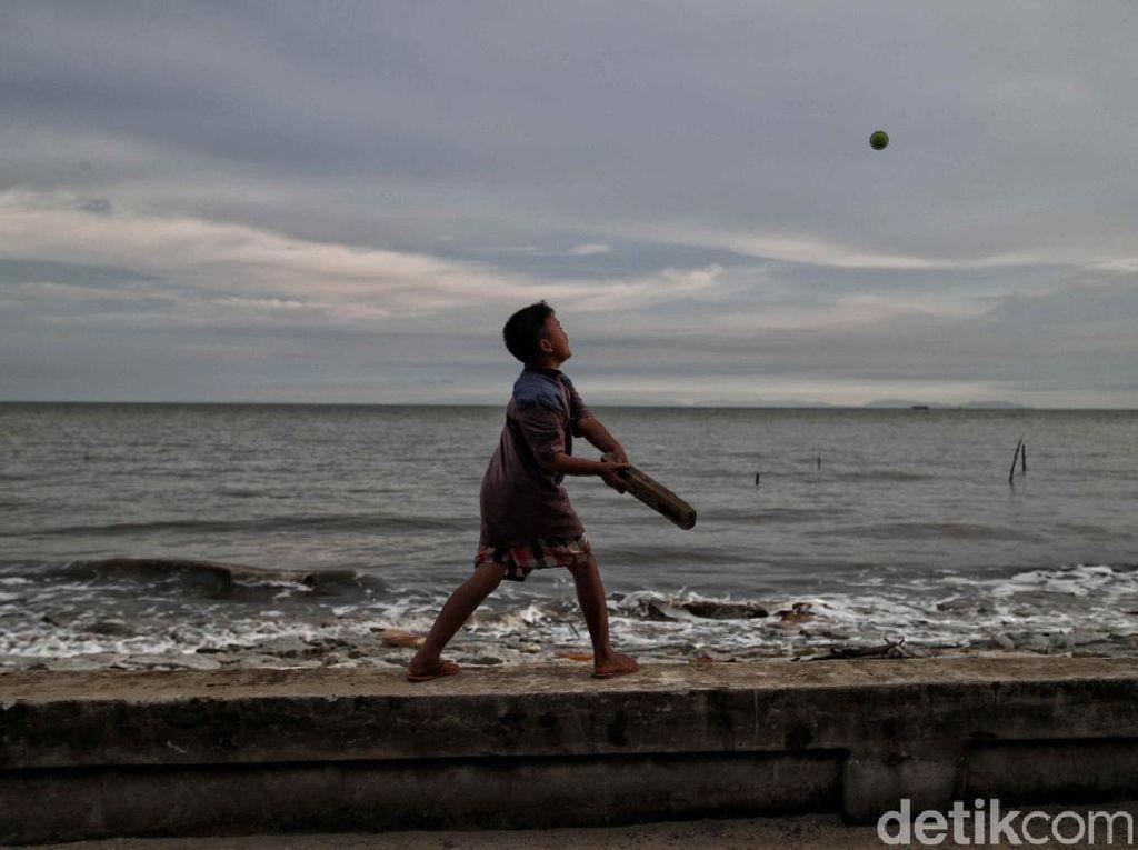 Pantai Desa Teluk Ruh Rupat Utara Terancam Abrasi