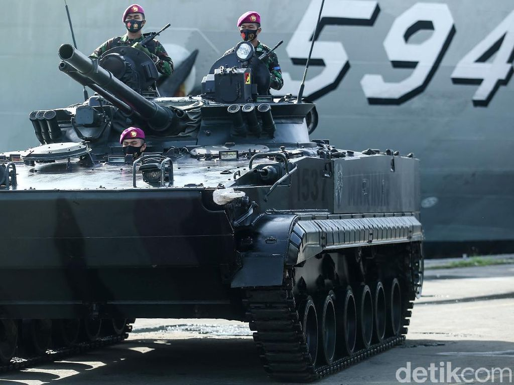 Pasukan Pemukul Reaksi Cepat TNI Siap Siaga