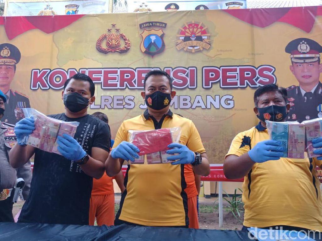 Jambret Rp 180 Juta Beraksi 13 Kali di Jombang, Emak-emak Jadi Korban