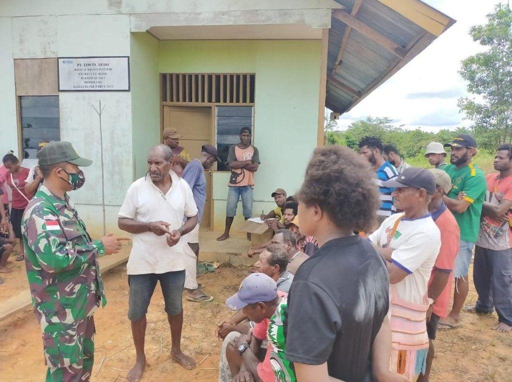 Satgas Pamtas RI-Papua Nugini Amankan 42 Pelintas Batas illegal