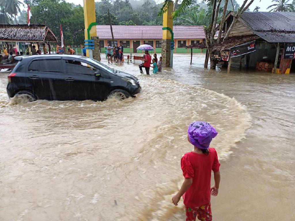 Sejumlah Desa di 2 Kabupaten di Aceh Terendam Banjir