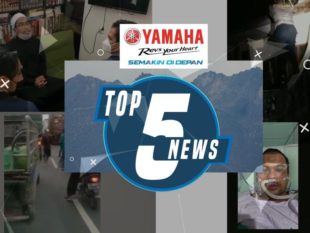 Top 5: Ustaz Maaher Ditangkap, Sopir Bus Dikeroyok Warga