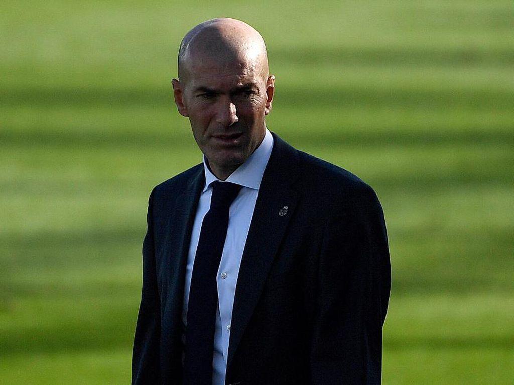 Jelang Derby Madrid: Zidane Sebut Tak Ada Tim Unggulan