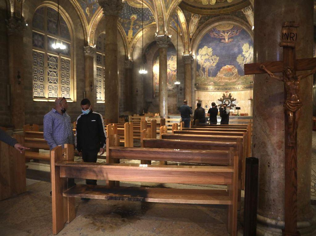 Polisi Israel Tangkap Pria yang Berupaya Bakar Gereja di Yerusalem