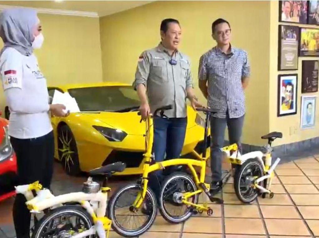 Hanya 100 Unit, Sepeda Model Brompton Bamsoet Dijual Rp 13,5 Juta