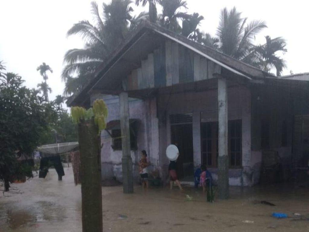 15 Desa di Aceh Utara Terendam Banjir Akibat Sungai Meluap