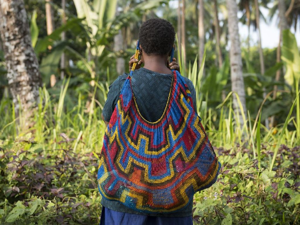 Bilum, Tas Tradisional Papua Nugini yang Jadi Simbol Kekayaan
