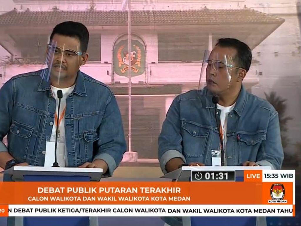 Bobby Nasution-Aulia Rachman Menang Pilwalkot Medan Versi QC Charta Politika