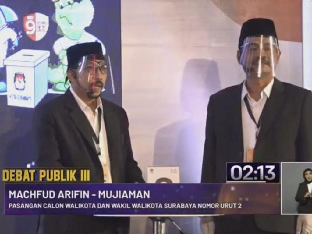 Janji Machfud-Mujiaman Akan Bangun Birokrasi Transparan di Surabaya