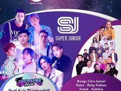 Saksikan Super Junior dan Sederet Penyanyi di HUT Transmedia ke-19 Malam Ini!