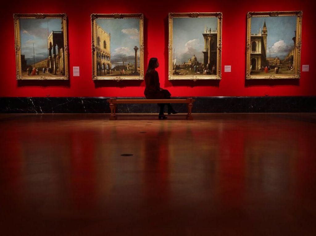 Istana Buckingham Pamerkan Koleksi Lukisan Mahakarya