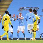 Babak I City Vs Fulham: The Citizens Unggul 2-0