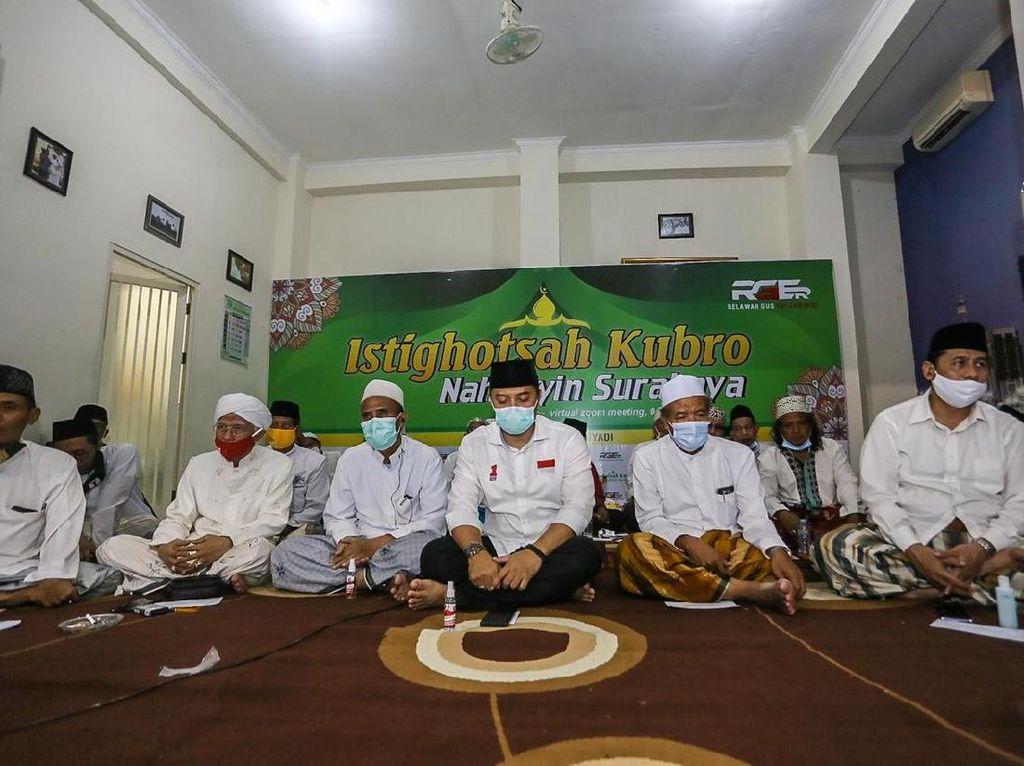 Gelar Istigasah, Gus Muwafiq dan Nahdliyin Surabaya Doakan Eri Cahyadi