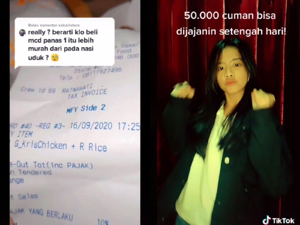 Netizen Ungkap Harga Makanan di Kalimantan: 50 Ribu Cuma Bisa Jajan Setengah Hari
