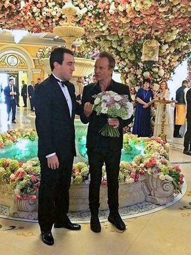 Pernikahan mewah Said Gutseriev dan Khadija Uzhakhova