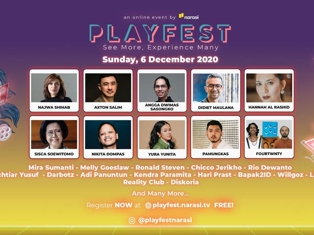Bincang Masa Depan Industri Kreatif di Playfest 2020