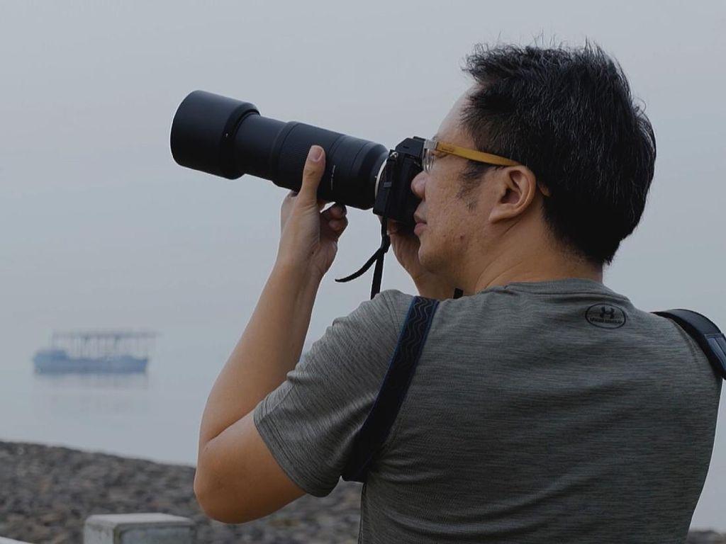 Lensa Telefoto Tamron 70-300mm Cocok DIbawa Traveling