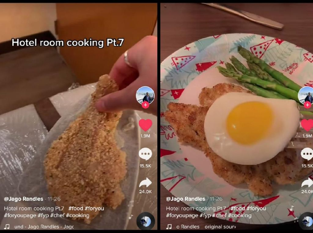 Viral Video Netizen Masak di Kamar Hotel Pakai Setrika hingga Teko Listrik