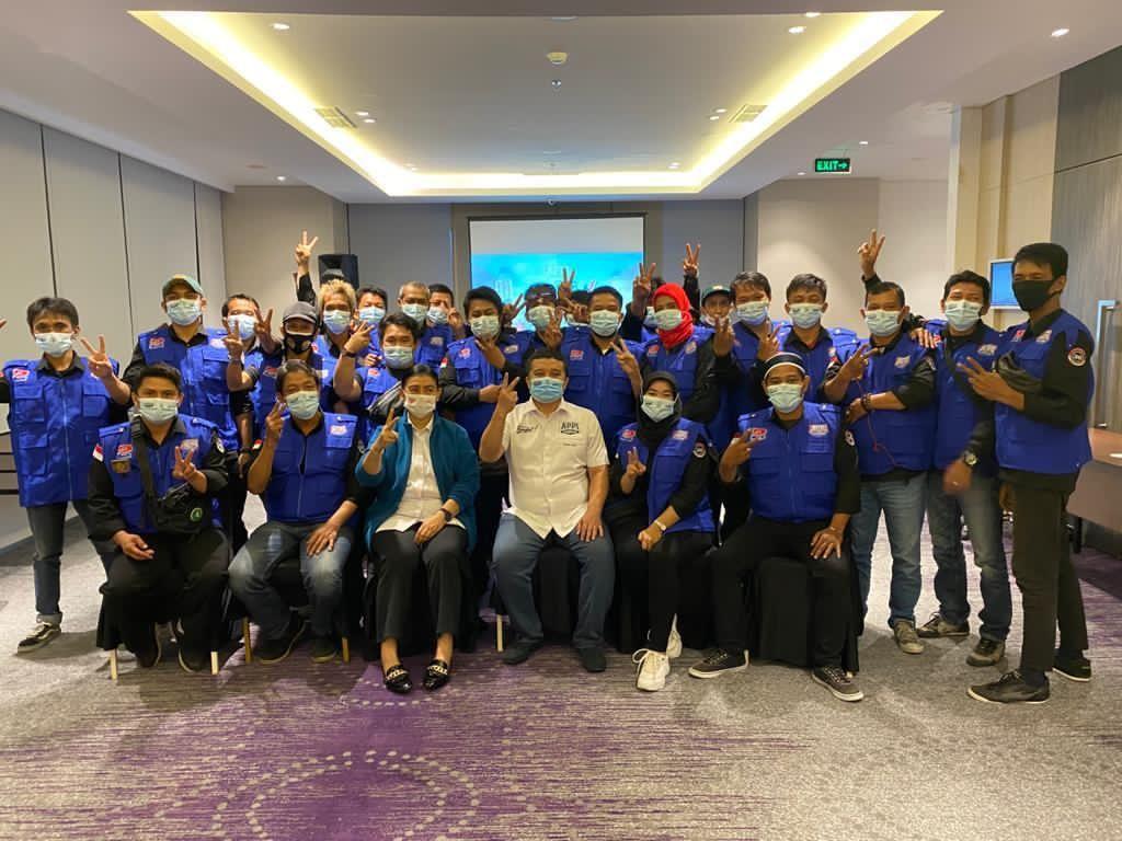 Komunitas Ojol Sampaikan Dukungannya di Pilwalkot Makassar