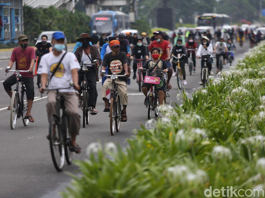 Goweser VS Bikers soal Jalur Sepeda Permanen Sudirman-Thamrin