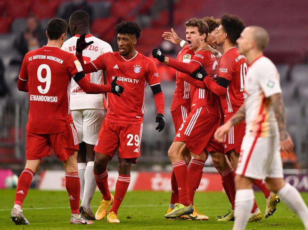 Klasemen Liga Jerman: Bayern Munich Masih Teratas di Pekan ke-14