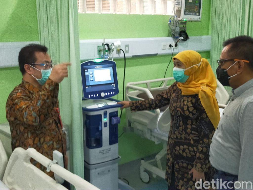 Khofifah Resmikan IGD Khusus Penyakit Menular RSU Soetomo