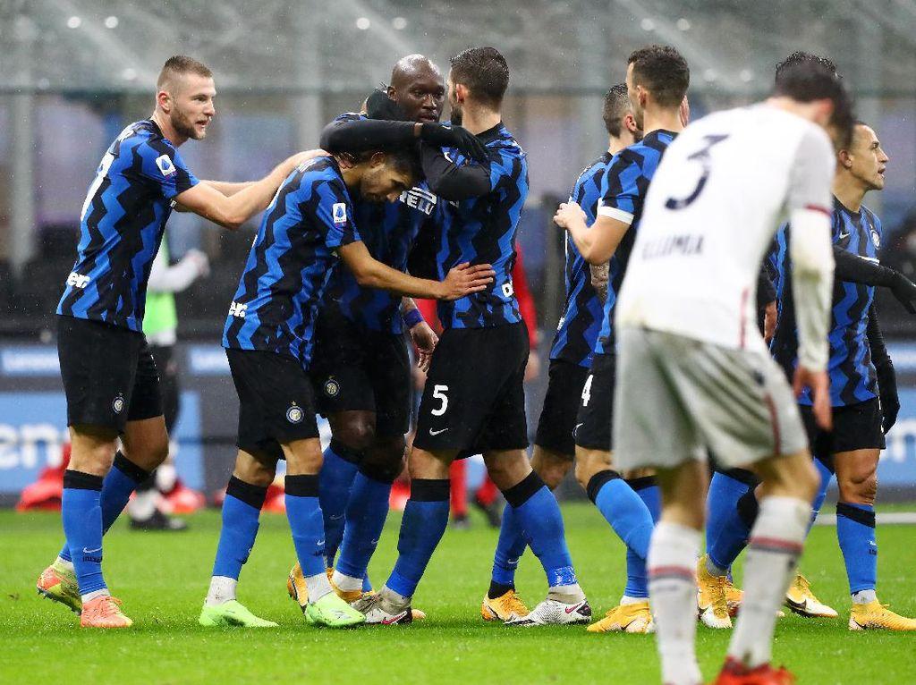 Kemenangan Inter Puaskan Conte, tapi ...