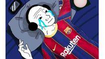 Netizen Prihatin Barcelona Dikalahkan Cadiz