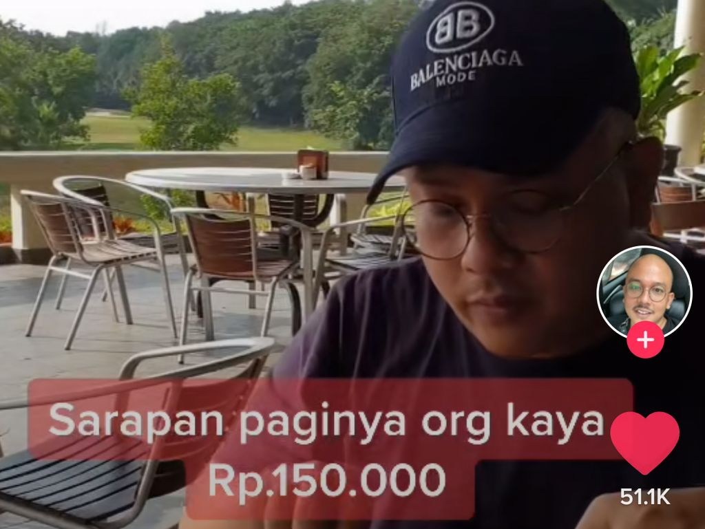 Netizen Dihujat karena Pamer Sarapan Orang Kaya Hingga Dipaksa Makan Babi