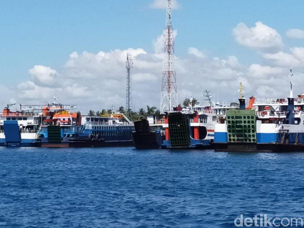 Mudik Lebaran Dilarang, ASDP Tetap Layani Penyeberangan Logistik