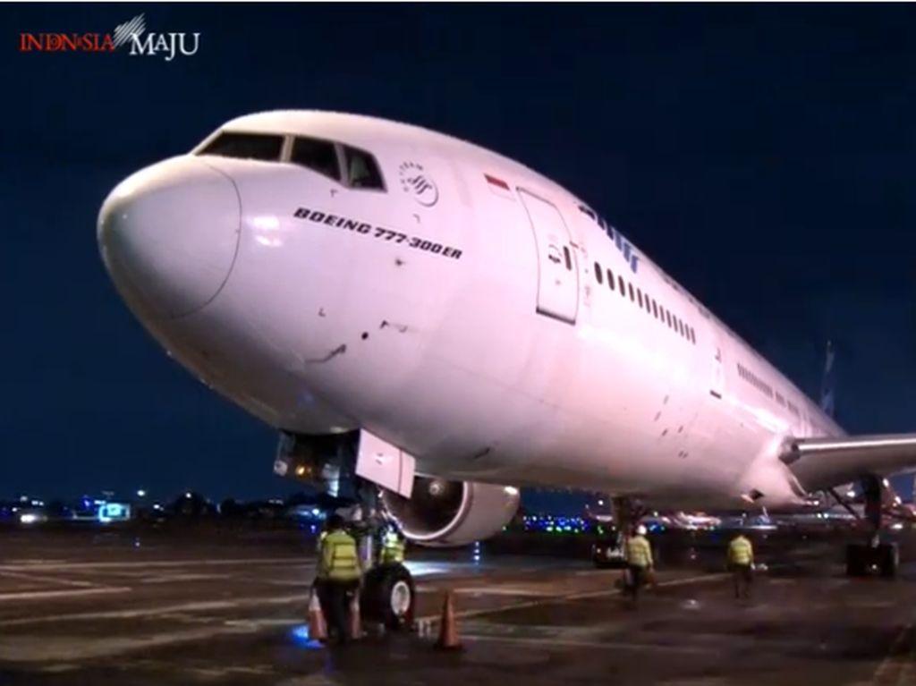 Profil Pesawat Garuda yang Bawa Vaksin COVID-19 ke Indonesia