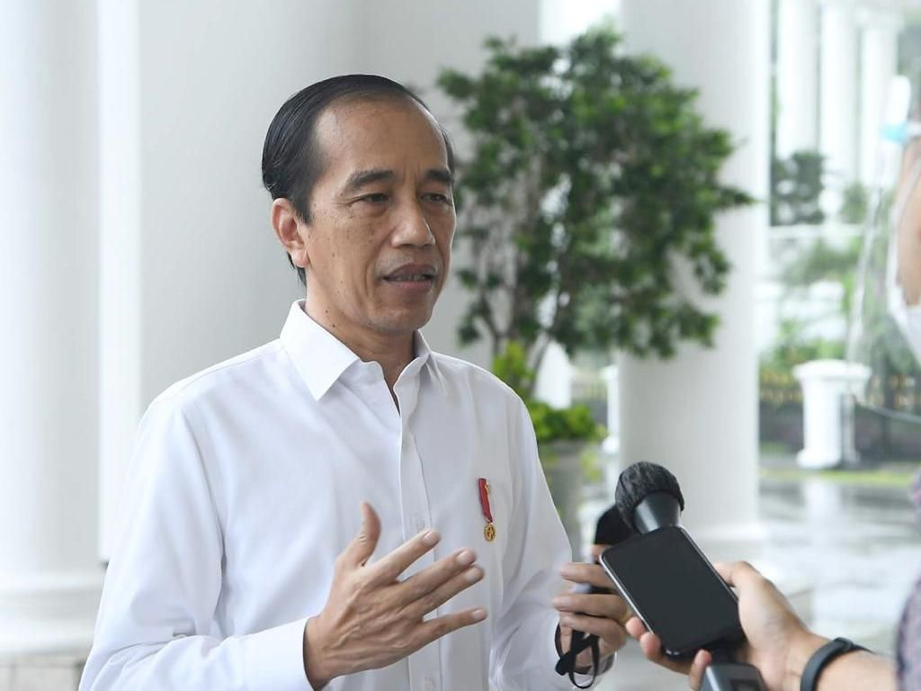 Komentar Jokowi Usai Terima Vaksin COVID-19: Nggak Terasa Sama Sekali