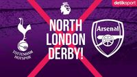 Link Live Streaming Tottenham Hotspur Vs Arsenal